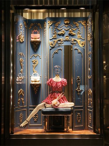 Miu Miu storefront window display - Ginza | POSM | Store ...