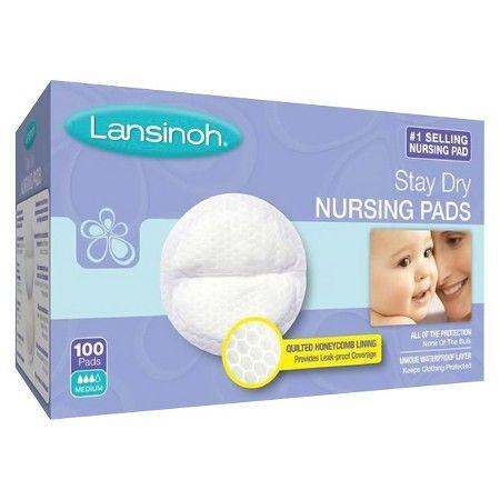 Lansinoh Disposable Nursing Pads 100 Ct : Target
