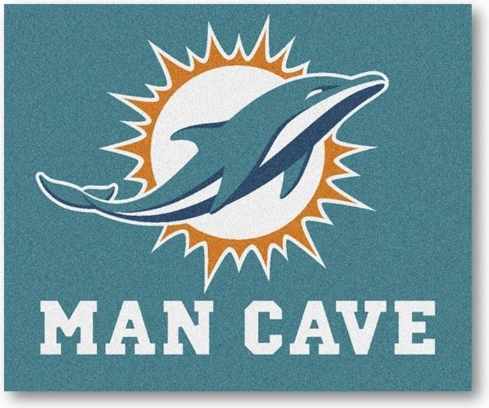 Use the code PINFIVE to receive an additional 5% discount off the price of the Miami Dolphins NFL Man Cave Tailgate Rug at sportsfansplus.com