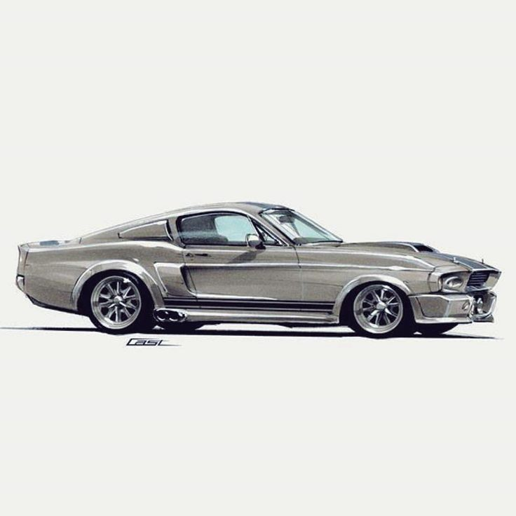 Ford Mustang Shelby Gt500 Eleanor 1967 Ford Pinterest