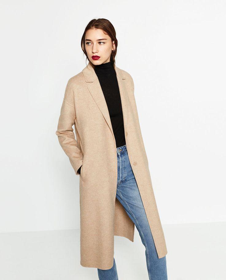 Manteau zara femme beige