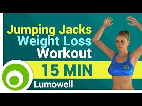 jumping jack weight loss workout routine