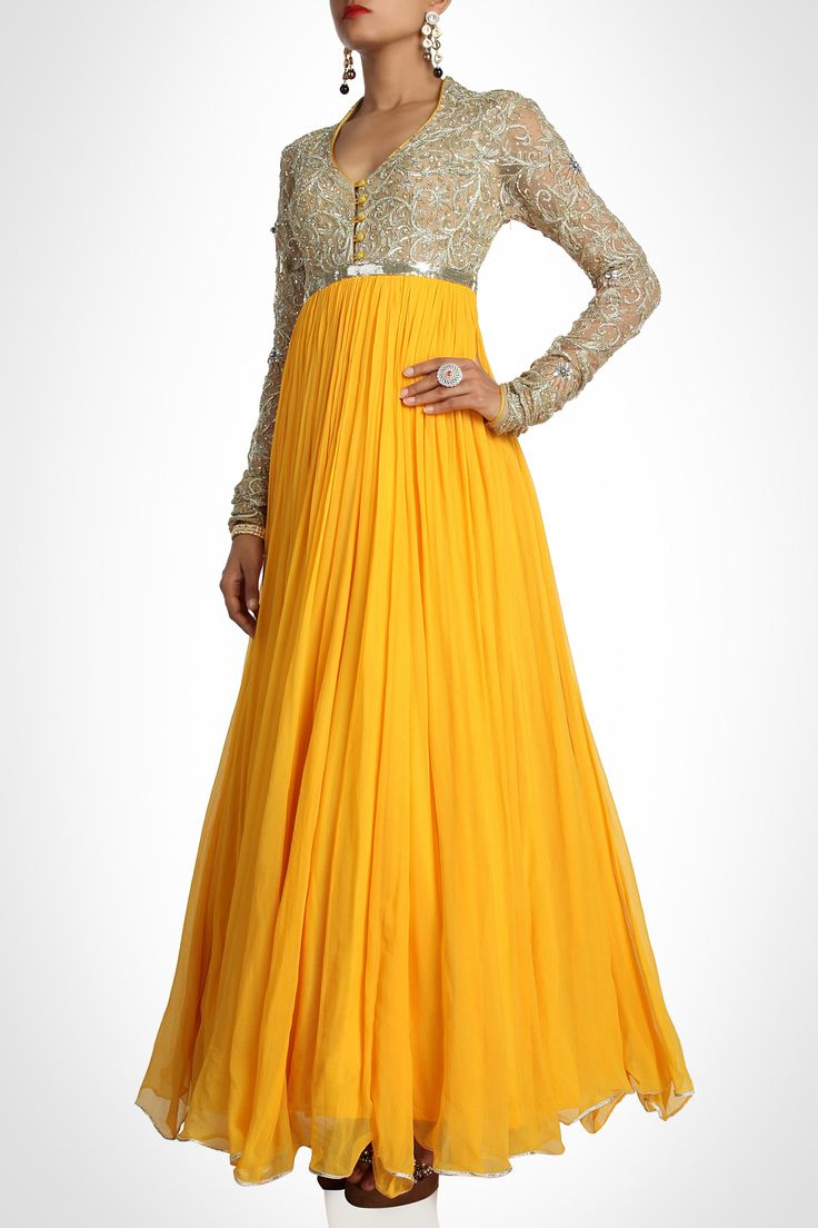 something to wear to a friend's wedding! Pam Mehta collection | Anarkali