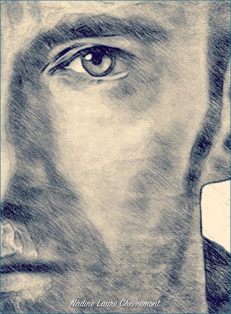 My Daily Drawings Sublimated Arts: Dare Portrait of Hugh Jackman's name Love