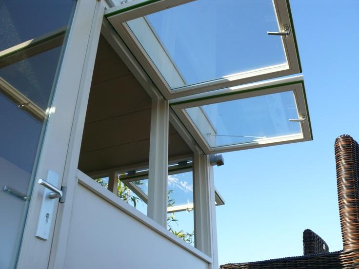 rooftopbar met openslaande ramen