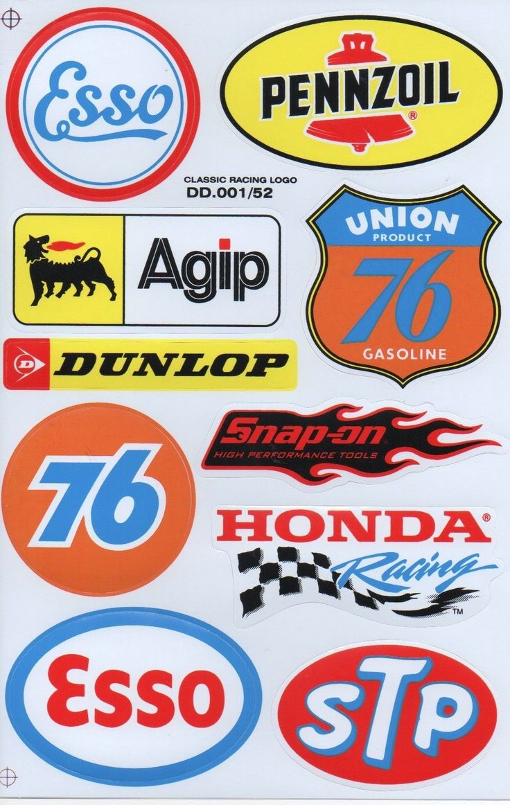 10 Mixed Sheets Sticker Decal Car ATV Bike Racing Helmet Motorcross Dirt BMX NC   eBay