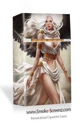 An angel from heaven - uniquely designed cigarette case via www.smoke-screenz.com