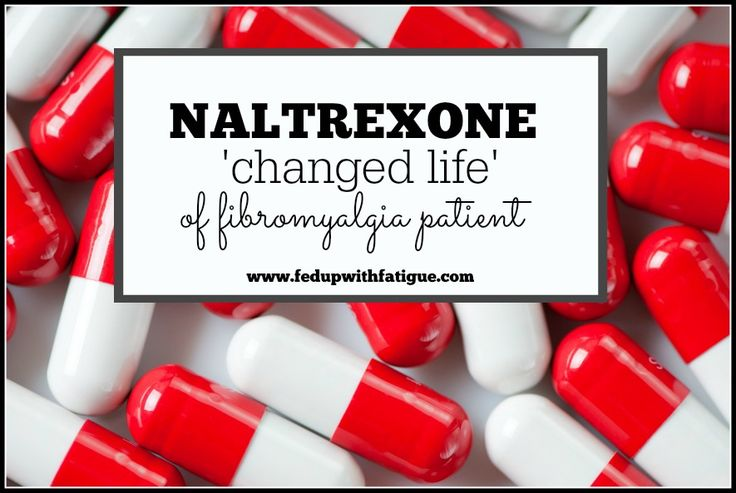 In early research studies, about 65 percent of patients using low dose naltrexone for fibromyalgia experienced an appreciable decrease in symptoms.