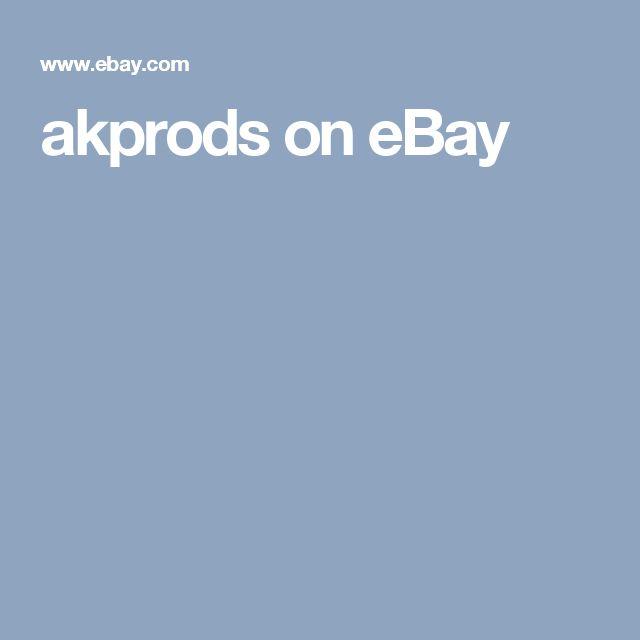 akprods on eBay