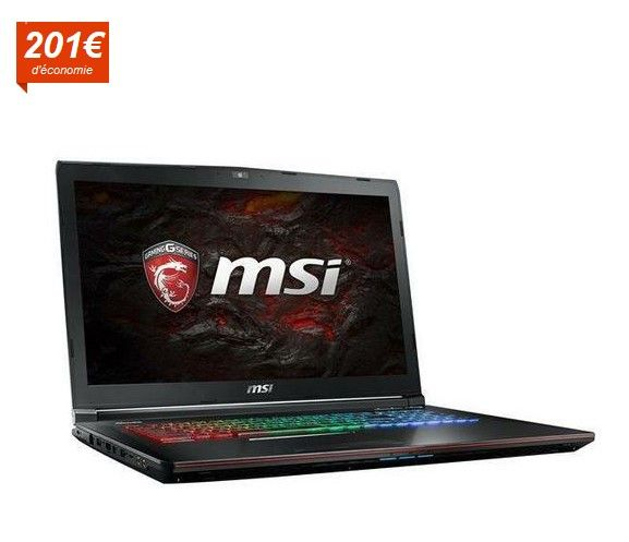 MSI PC Portable Gamer Apache Pro GE72VR 7RF 425FR - Cdiscount