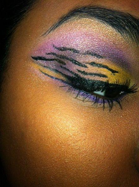 LSU tiger eyes! LOVE