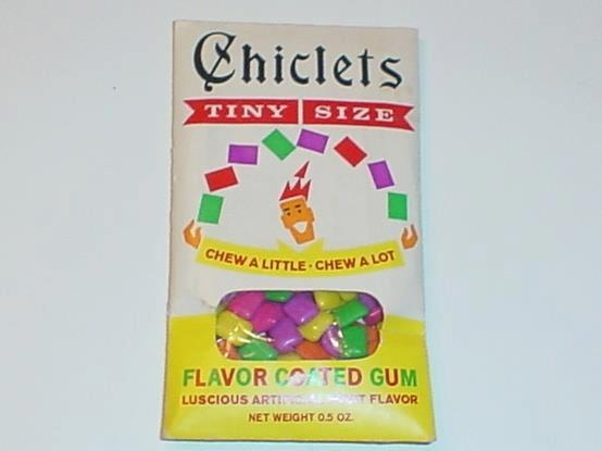 I remember these gum pieces!