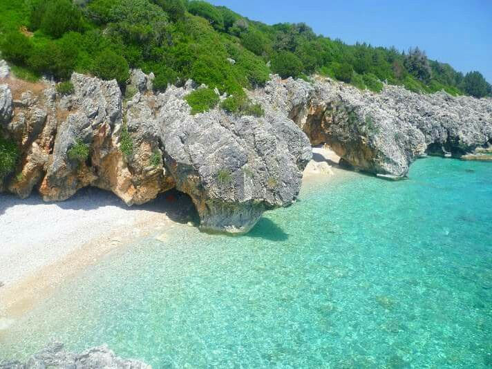 Pure Turquoise water, kefalonia!