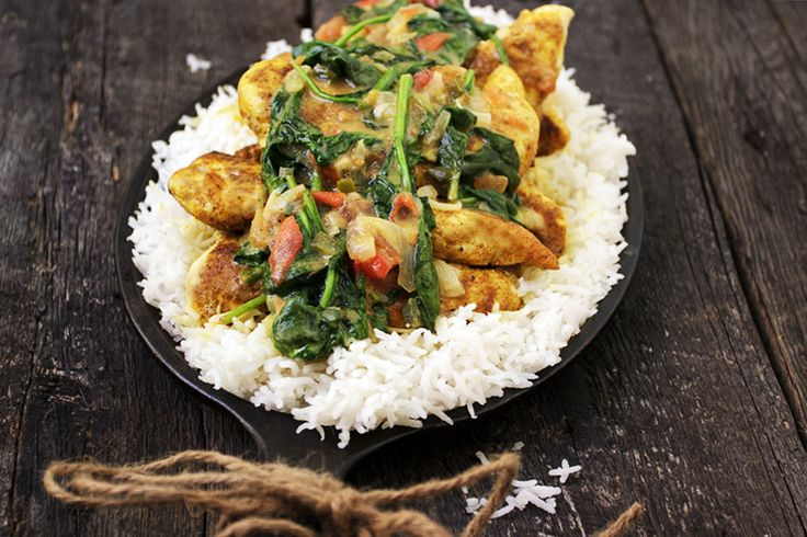 A delicious Brazilian chicken curry, with lots of flavour, coconut milk and spinach. Ready in about 35 minutes. Great served over rice.