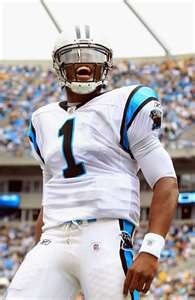 Rookie of the Year!!! Cam Newton.
