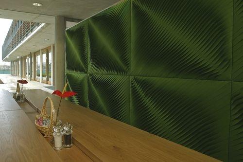 Anne Kyyro Quinn's pleated felt wall