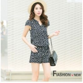 Summer New Korean Fashion Casual Rompers Short Pant