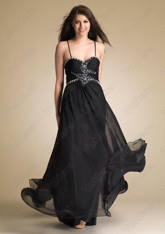87 besten Black Prom Dresses Bilder auf Pinterest | Schwarze ...