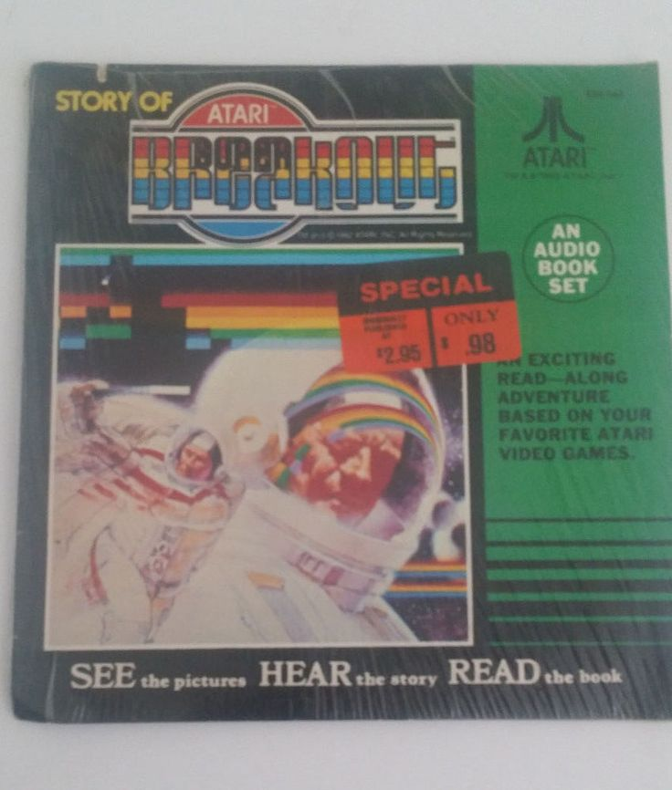 The Story of Atari Breakout Audio Book Set Vintage