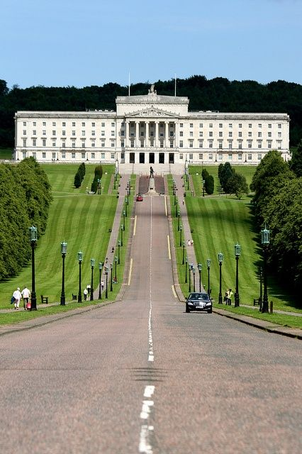 Parliament Buildings, Stormont (Belfast) - home to the Northern Ireland Assembly, the legislative body for Northern Ireland established under the Belfast Agreement 1998 (Good Friday Agreement).