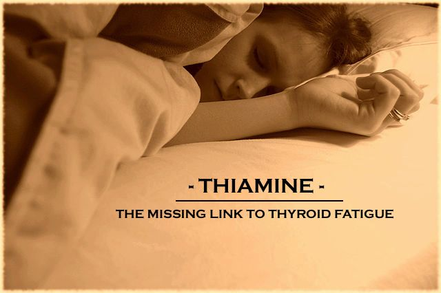 Could Thiamine be the missing link to your thyroid fatigue, stressed out adrenals and low stomach acid? Sometimes we can get stuck. We may be on a seemingly great diet, be taking the right supplements and doing everything in our power to feel better, but feel like we are making no progress. But many times, we may be one small change away from seeing a huge difference.