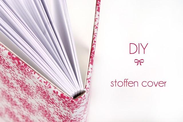 notitieboekje deftig met stof bekleven