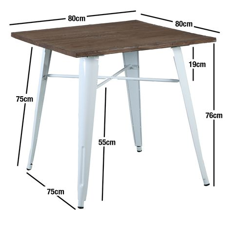 Buy Replica Xavier Pauchard Tolix Timber Top Table Silver 80x80 Online at Factory Direct Prices w/FAST, Insured, Australia-Wide Shipping. Visit our Website or Phone 08-9477-3441