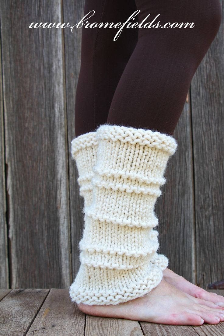 105 best Boot Cuffs & Leg Warmers Knitting Patterns images on ...