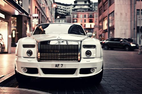 Rolls Royce, the definition of high class...I have bought 10 of them already...... in my dreams..