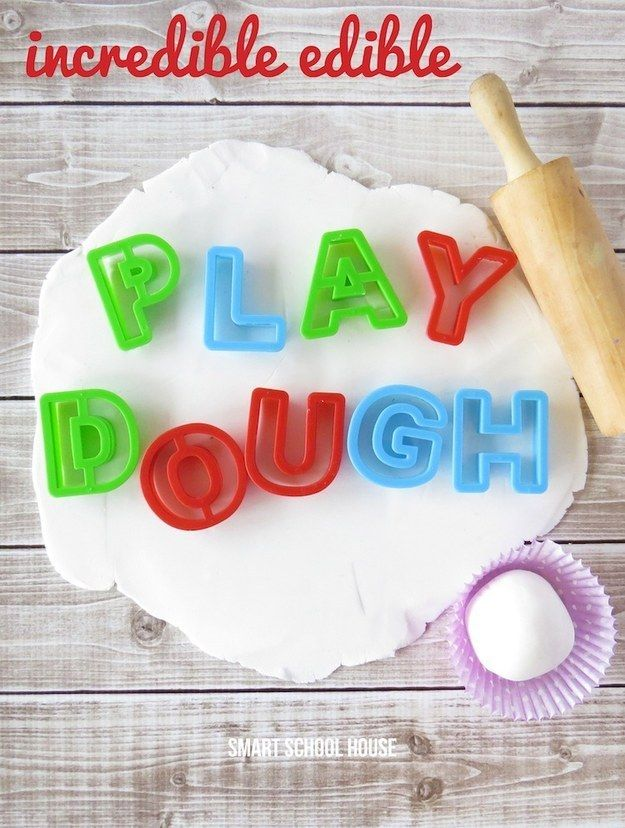 Ediible playdough is pretty incredible, too. | 23 DIY Projects That Will Blow Your Kids' Minds