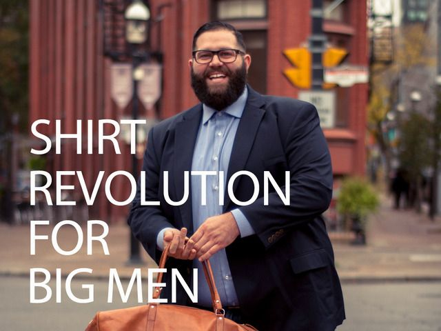 Parker & Pine is on a mission to make the perfect dress shirt for big gents, but they need your help. Learn more about the shirt and their Kickstarter campaign: http://chubstr.com/2014/style/parker-pine-big-tall-dress-shirts/