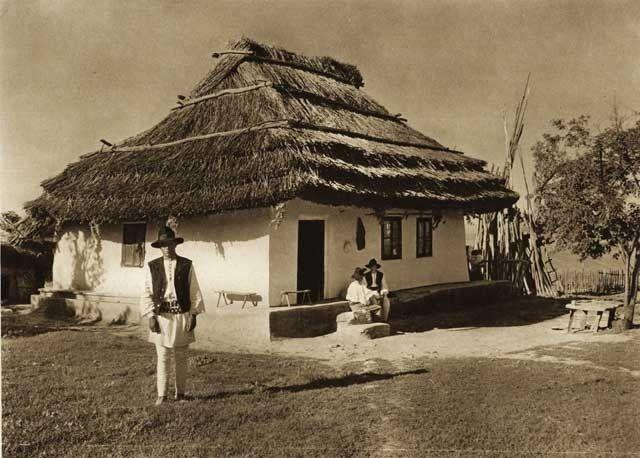 Casa-taraneasca-in-Basarabi - case traditionale romanesti