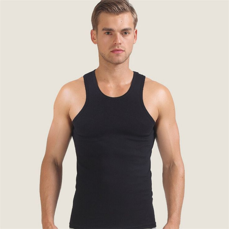 iMucci White Men Vest Men's Tank Tops Black 100% Cotton Sleeveless Undershirts Male Bodybuilding Tank Tops Summer Casual Vests