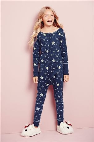 Buy Navy Star All-In-One (3-16yrs) from the Next UK online shop