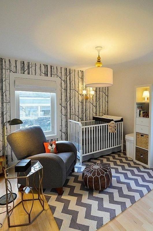 Lucca's Stylish Grey & White Nursery