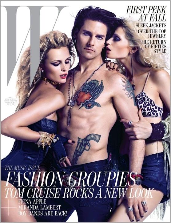 Том Круз для журнала W 06/2012