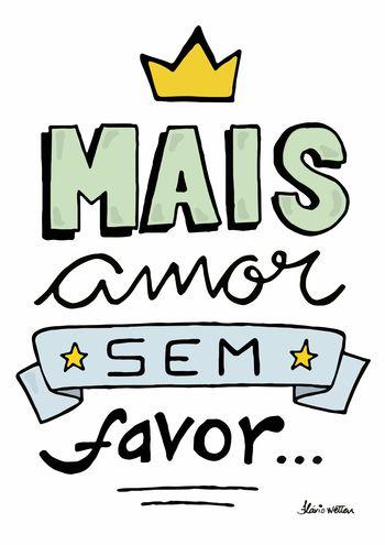 poster - Amor Sem Favor