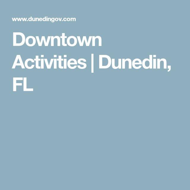Downtown Activities | Dunedin, FL
