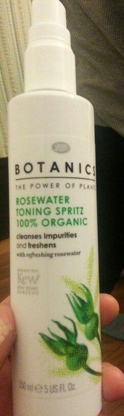 Botanics Toning face spritz