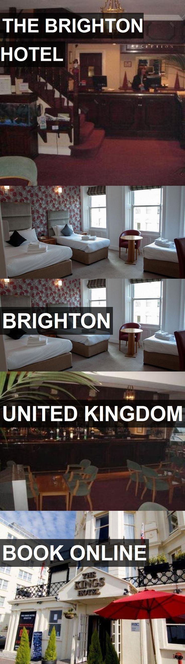 Hotel THE BRIGHTON HOTEL in Brighton, United Kingdom. For more information, photos, reviews and best prices please follow the link. #UnitedKingdom #Brighton #THEBRIGHTONHOTEL #hotel #travel #vacation