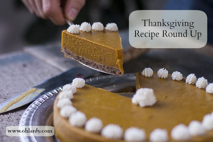A round up of Thanksgiving Recipes from our favorite real food bloggers!