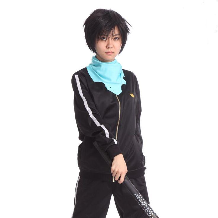 Anime noragami yato cosplay costume hoodies zipper sport