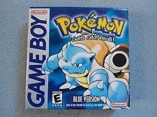 Pokemon Blue Version - Nintendo GameBoy - Complete!  get it http://ift.tt/2bLRUGD pokemon pokemon go ash pikachu squirtle