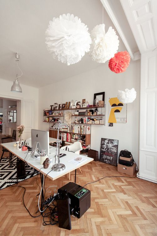 home office space inspiration yfsmagazine. Eclectic Apartment By Atelier Karasinski Styling Allows For Such Playful, Undeniable Cool And Unique Spaces. Take This Studio Located In Home Office Space Inspiration Yfsmagazine E