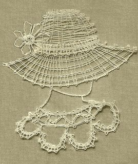 Handcraft Blog: Easy bobbin lace pattern for beginners                                                                                                                                                                                 More