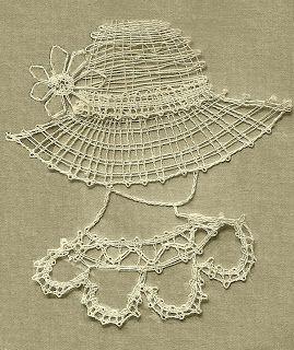 Handcraft Blog: Easy bobbin lace pattern for beginners                                                                                                                                                                                 More