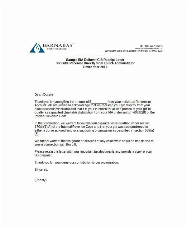 Sample Nonprofit Gift Acknowledgement Letter New Sample Gift Letters 45 Examples In Pdf Word Letter Template Word Donation Letter Template Letter Templates