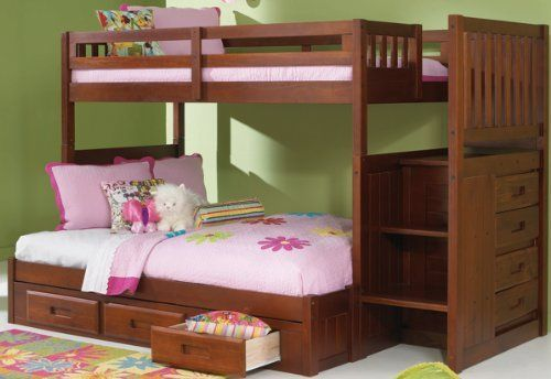 1000 Ideas About Bunk Beds With Stairs On Pinterest