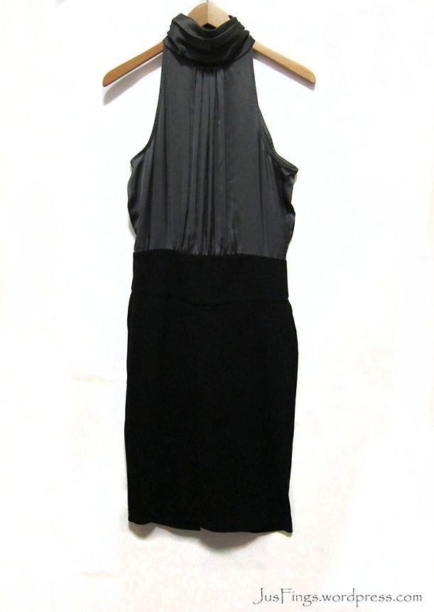 ZARA High-Neck Party Dress S$28