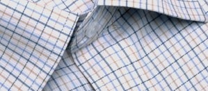 Full sleeve formal shirt in thin pink and blue checks with a front pocket. Designed to make you feel fresh and confident, this shirt will keep you going throughout the day.     Style with:  Formal black or dark gry  trousers or under a suit for a perfect work wear.
